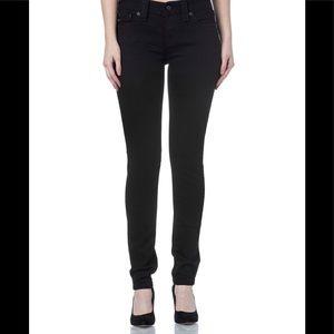 Miss Me Jeans - Miss Me Mid Rise Black Skinny Jeans